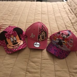 Minnie Mouse Toddler Hats